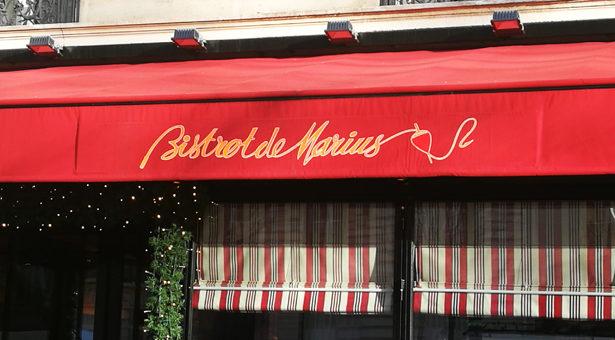 Le Bistrot de Marius, les produits de la mer à Paris.