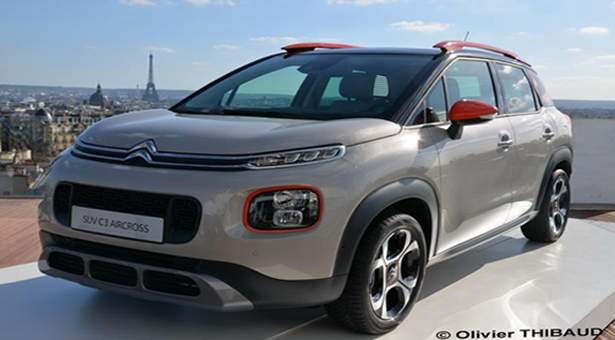 Citroën C3 Aircross SUV.