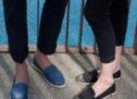ANGARDE, la marque de sneaker inspirée de l'espadrille.