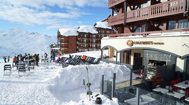 COLUMBUS CAFÉ & CO : CAP SUR VAL THORENS !