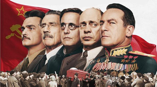 » La mort de Staline » de  Armando Iannucci.