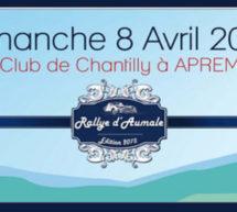 Sous le signe de la belle automobile et du cheval : Le Rallye d'Aumale à Chantilly.
