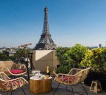 KRUG : LE BAR À CIEL OUVERT AU SHANGRI-LA HOTEL, PARIS