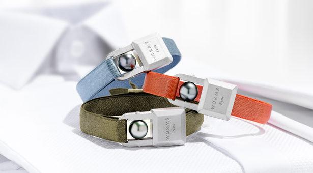 WORMS Paris, Bracelet cadenas U'rban 100% masculin.