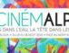 Cinémalpes, le cinéma les pieds dans l'eau face au Mont-Blanc.