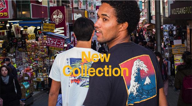 Quiksilver, la nouvelle collection vient d'arriver.
