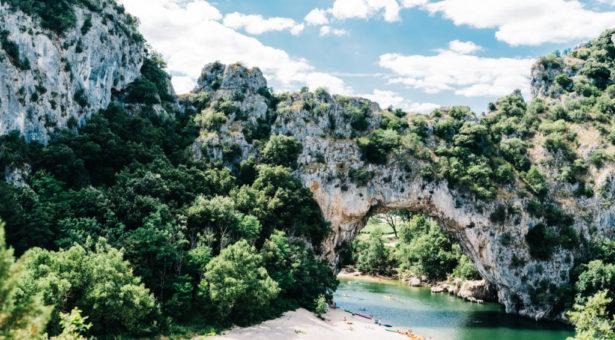 Été indien en Ardèche.