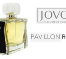 JOVOY hisse le PAVILLON ROUGE #newfragrance.