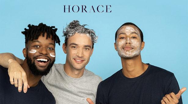 HORACE, Essentiels de soins pour mecs, développés avec les mecs.