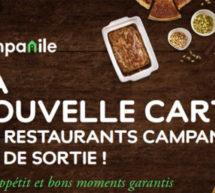 LA NOUVELLE CARTE DES RESTAURANTS CAMPANILE EST DE SORTIE !