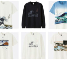 UNIQLO accueille la collection HOKUSAI BLUE et célèbre l'Art du Maître de l'Estampe Japonaise.