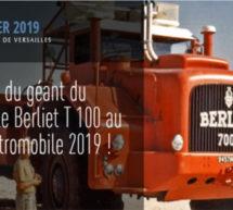 Salon Rétromobile : le mythique Berliet T100 de la grande épopée saharienne.