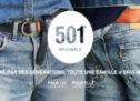Le jean Levi's 511 slim noir, référence incontournable du nouveau vestiaire masculin.
