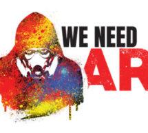 WE NEED ART , le street art à la portée de tous.