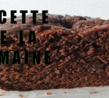 Cake au chocolat, recette du chef Cyril Lignac.