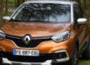 On dirait que Renault Captur apprécie cet endroit …