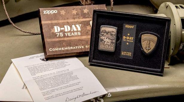 ZIPPO célèbre le 75ème anniversaire du  D-DAY.