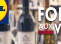 La Foire aux vins Lidl septembre 2019.