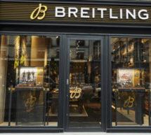 BREITLING a inauguré sa boutique au 10 rue de la Paix, 75002 Paris
