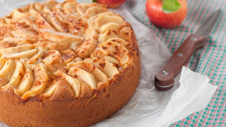 Gâteau aux pommes.  –  Mode homme , lifestyle, culture,beauté, Homactu