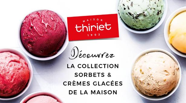 Thiriet : la collection Sorbets & Glaces de la Maison