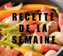 Cocotte de bœuf aux petits légumes et lardons