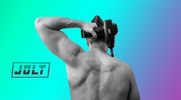 JOLT, le pistolet de massage par vibrations est l'allié parfait de vos séances sportives !