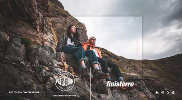 Palladium s'associe avec la marque anglaise Finistère.
