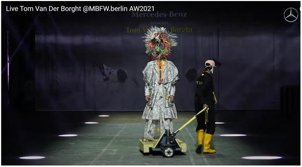 Défilé Tom Van der Borght   @MBFW.berlin AW2021