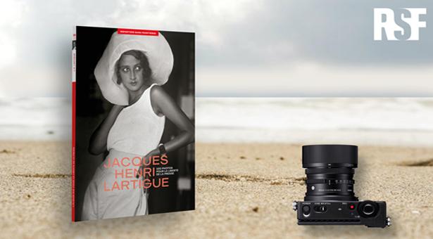 JEU CONCOURS SIGMA X ALBUM RSF : Un appareil photo à gagner !