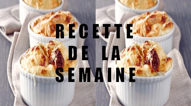 Soufflé aux 3 fromages