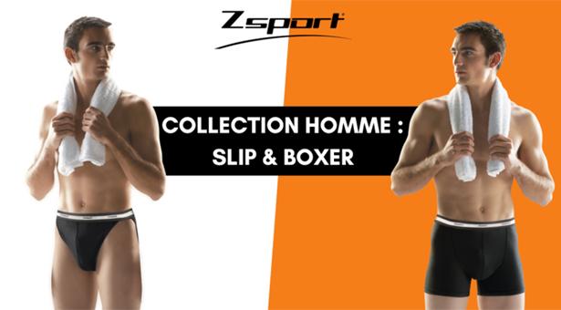 Zsport, les sous-vêtements homme spécial sport